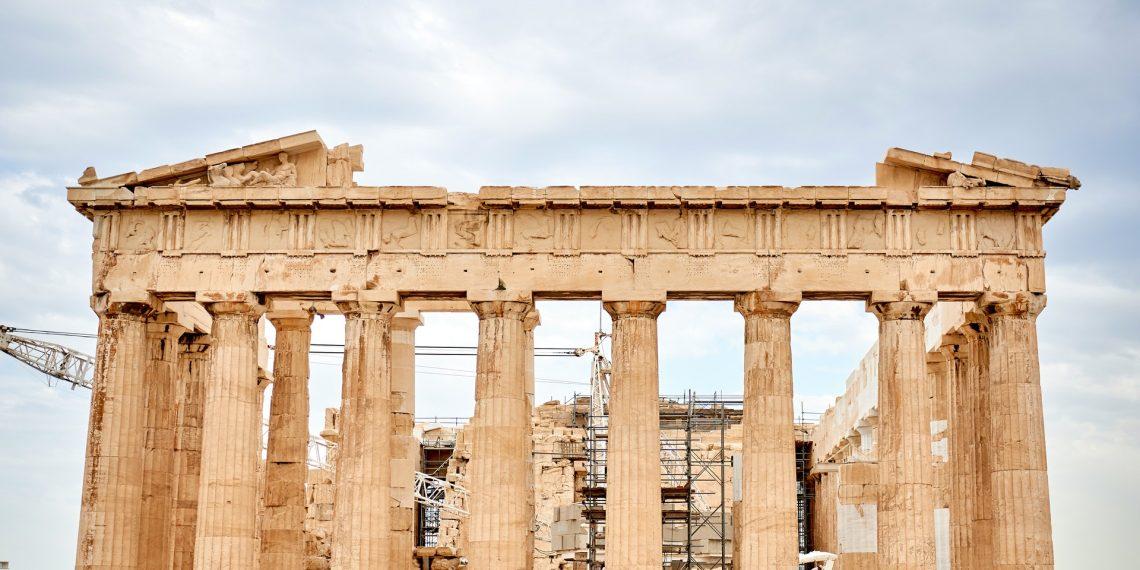 Temple of Parthenon in Acopolis, Athens, Greece