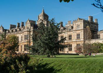 Westonbirt, United Kingdom - October 2017: Westonbirt Girls School near Tetbury Gloucestershire, England, United Kingdom